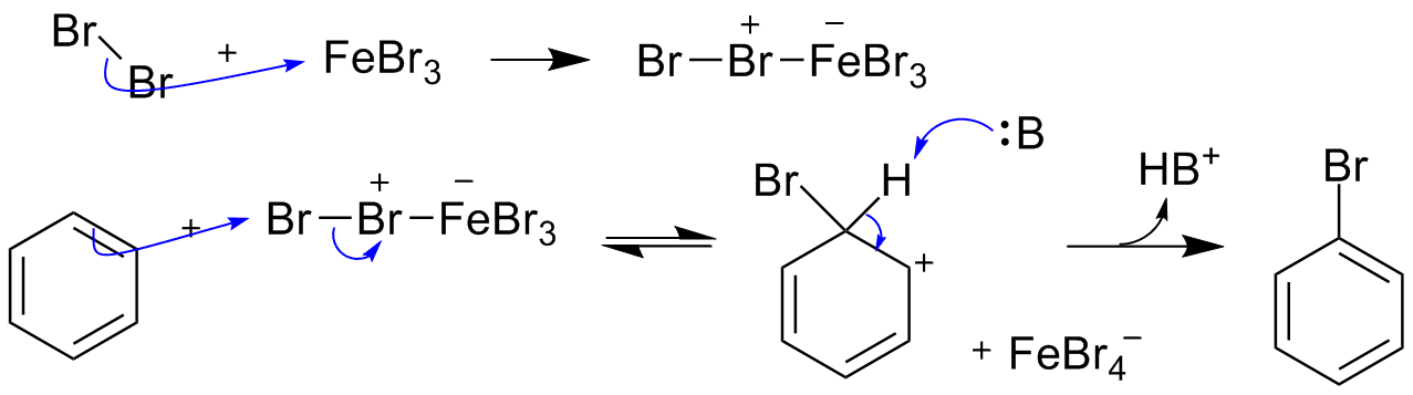 bromination of benzene synthesis and purification The bromination of aromatic compounds is a highly useful transformation  because  bromination and electrophilic aromatic ring brominations, harsh  reaction  which was dried with a m braun solvent purification system (a2  alumina.