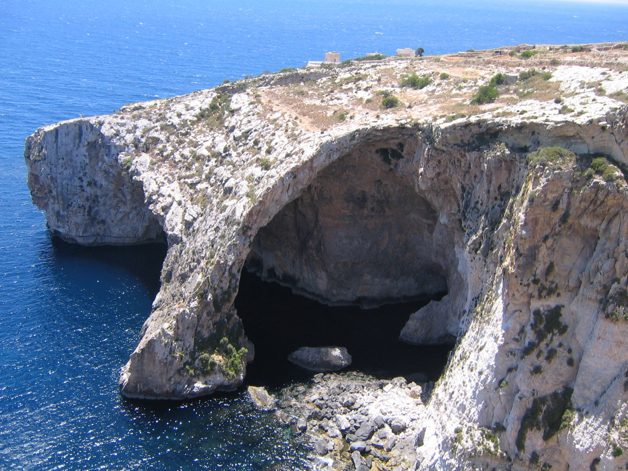 Blue Grotto. Fuente: Wikipedia