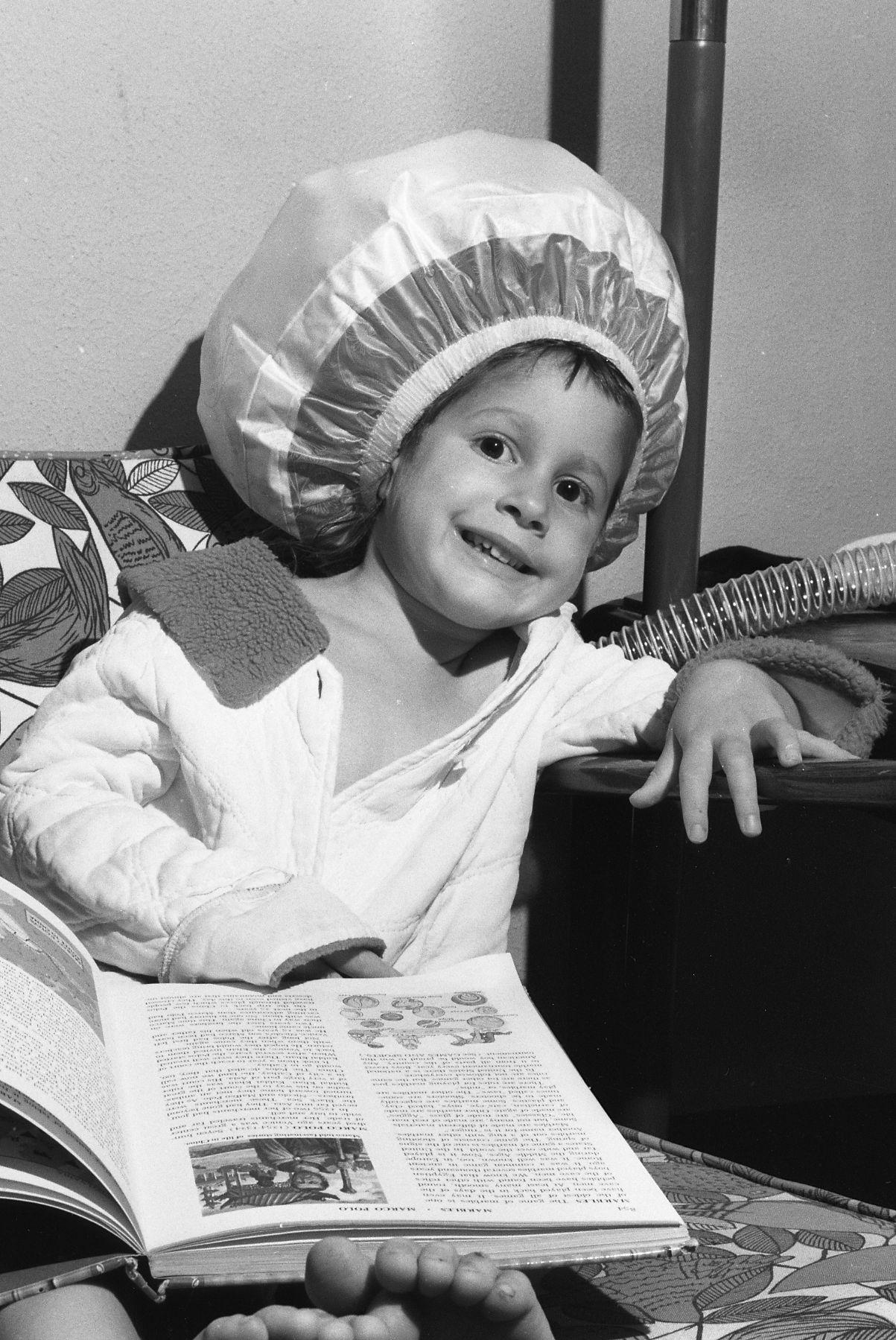 FileBonnet Hood Hair Dryer 1965