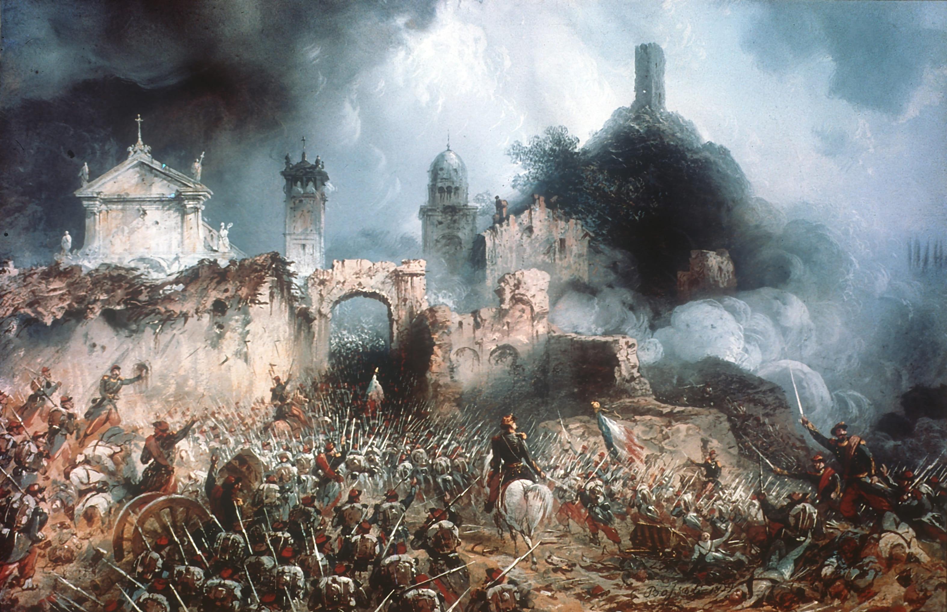 Battle of Solferino - Wikipedia