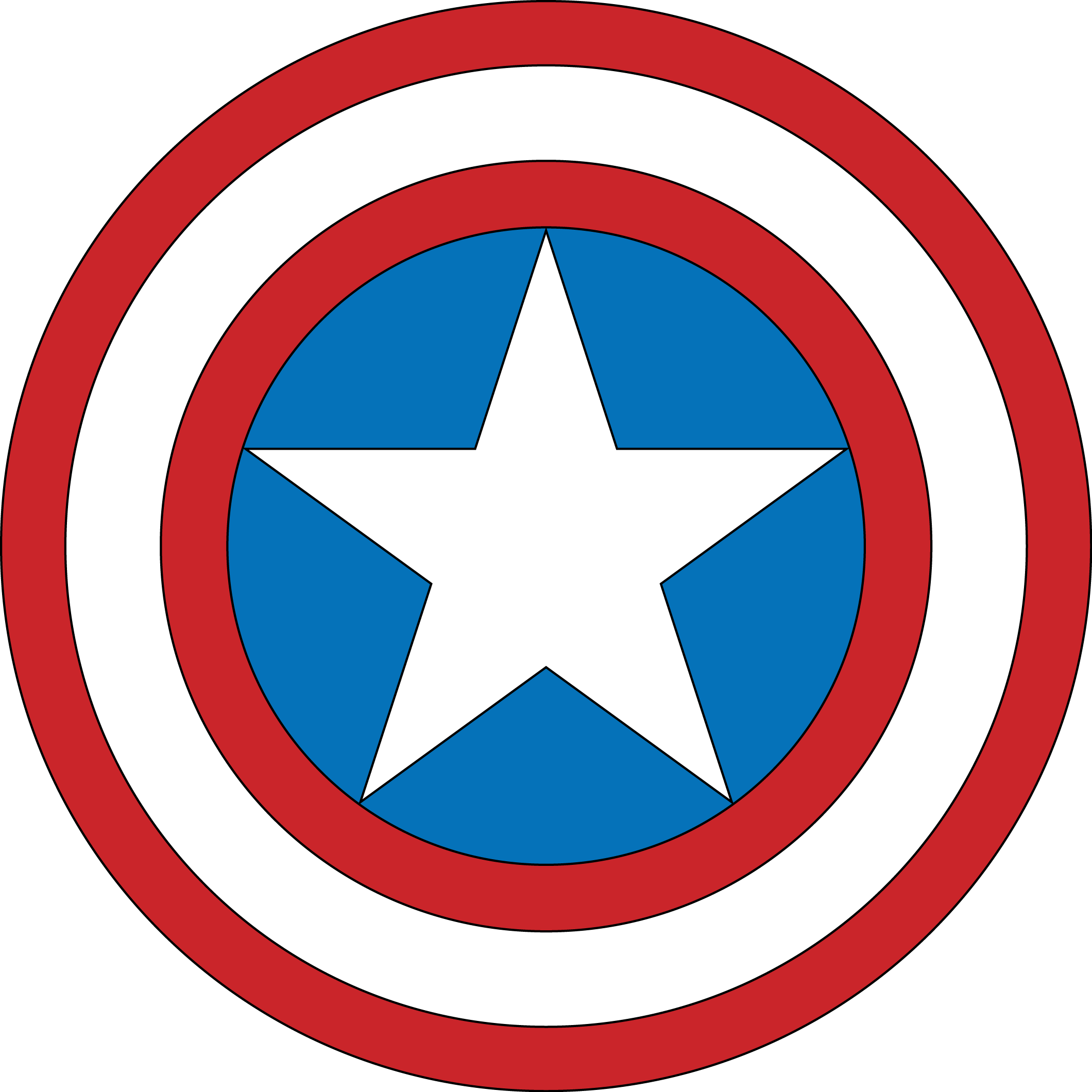 filebouclier captain america 1018png - Bouclier Captain America