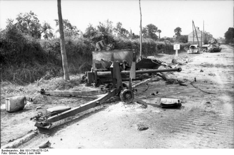The antitank gun that immobilized Wittmann's Tiger
