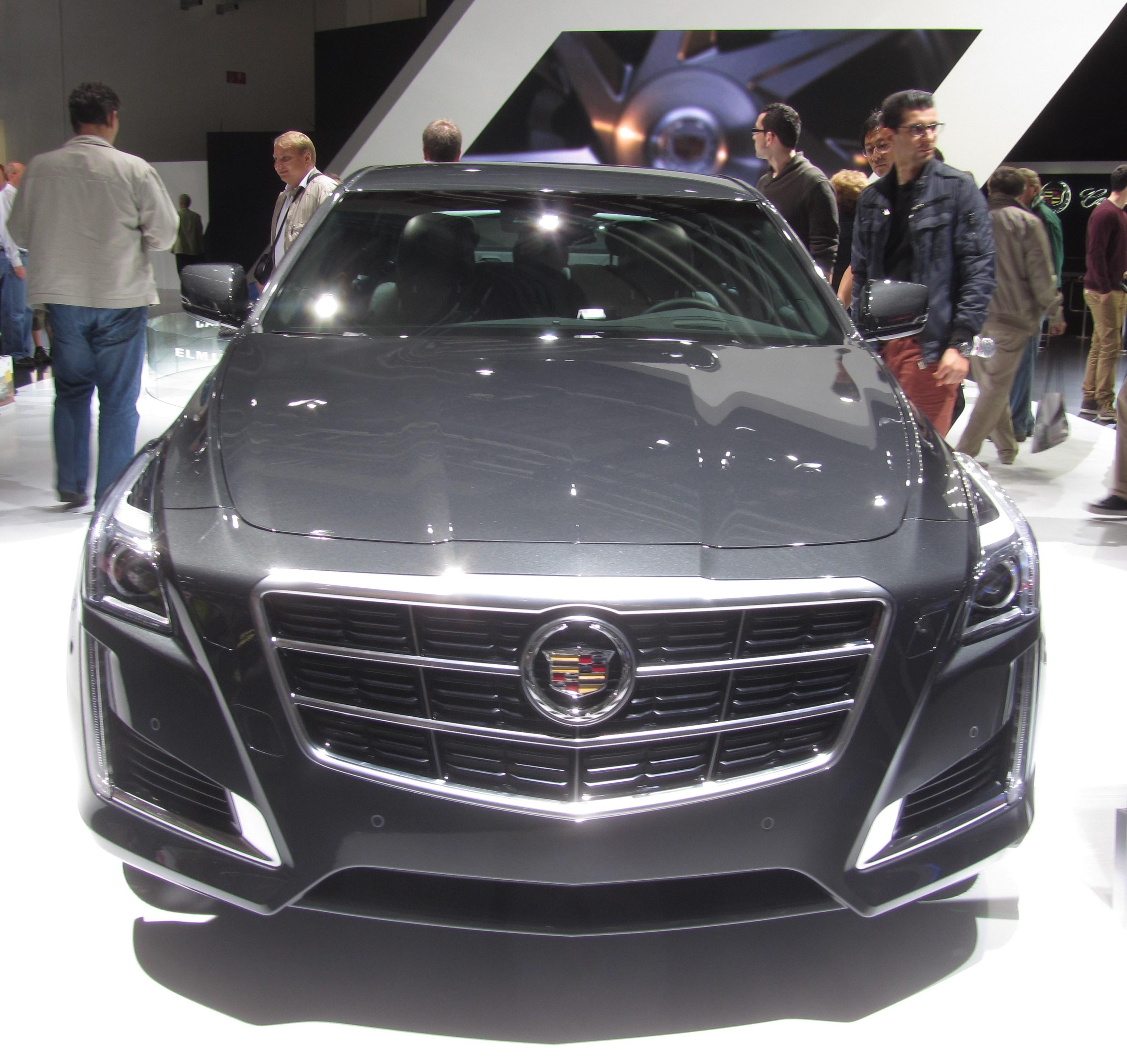 Awd Cadillac Cts: File:Cadillac-CTS-2014-gray IAA2013 Front-view LWS2815.jpg