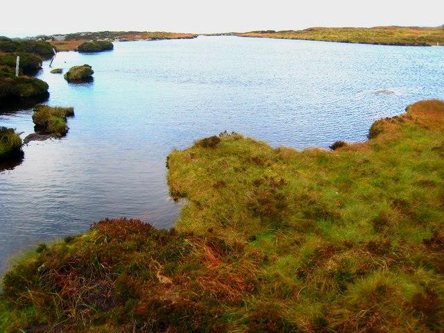 Calliagh Berras Lough, Slieve Gullion - geograph.org.uk - 564001