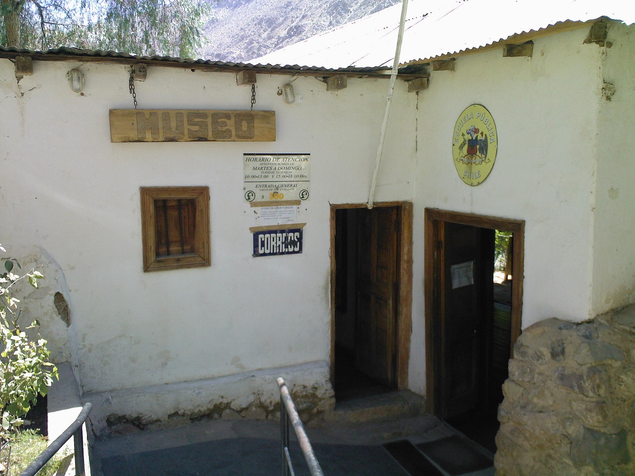 Casa-escuela de Montegrande.