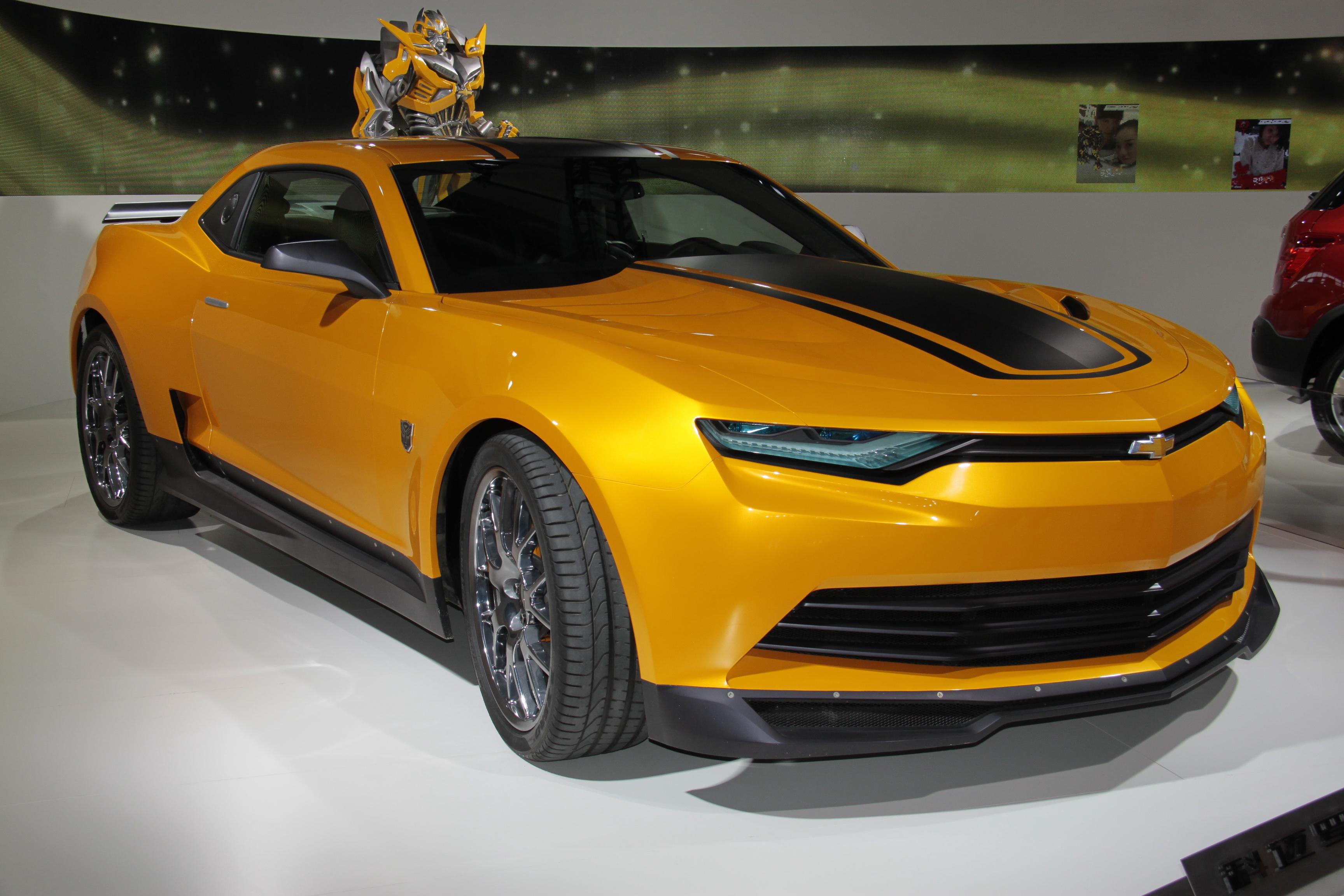 Chevrolet Camaro 2014 Bumblebee Www Pixshark Com