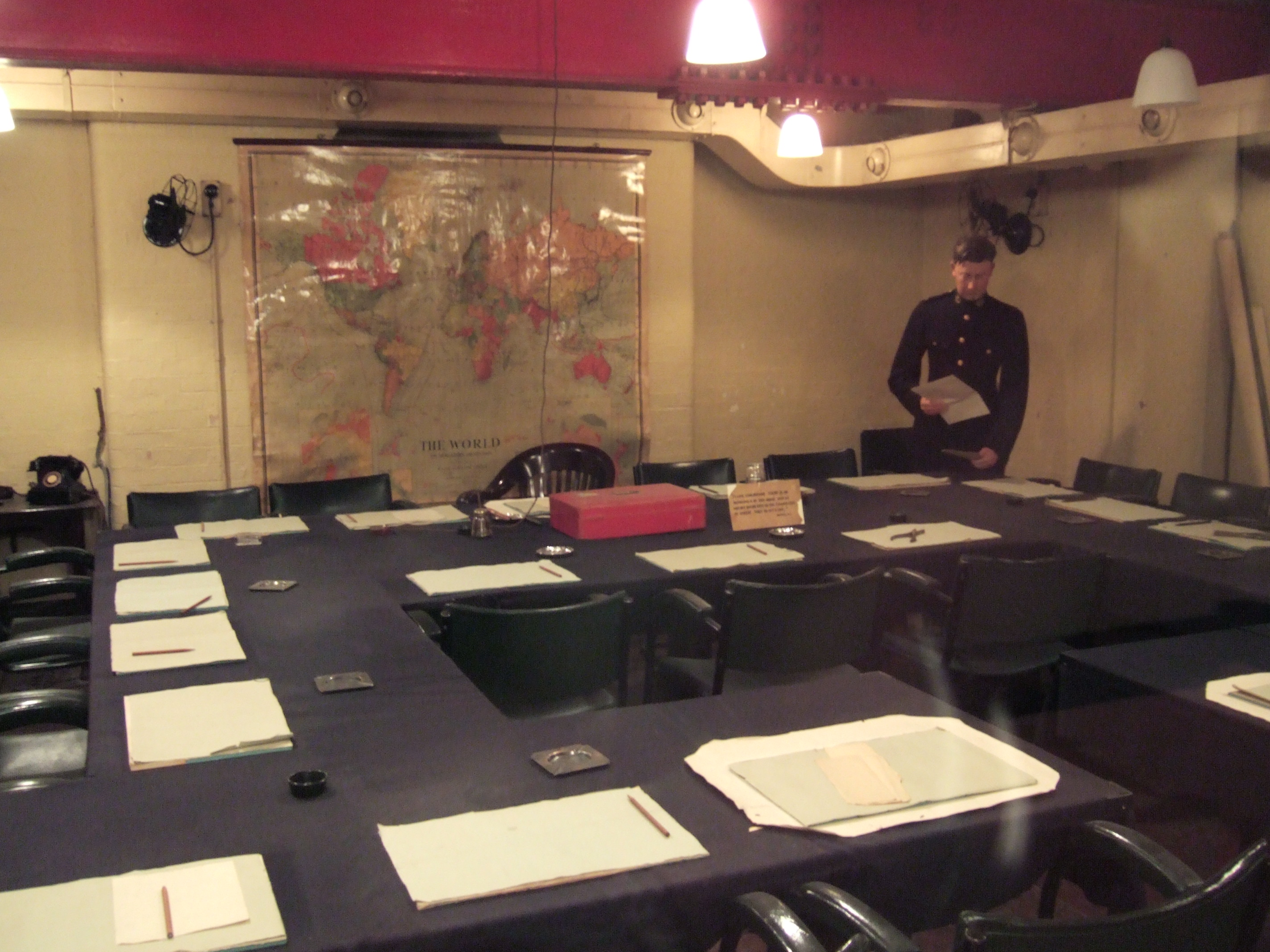 Churchill War Rooms Meeting Room