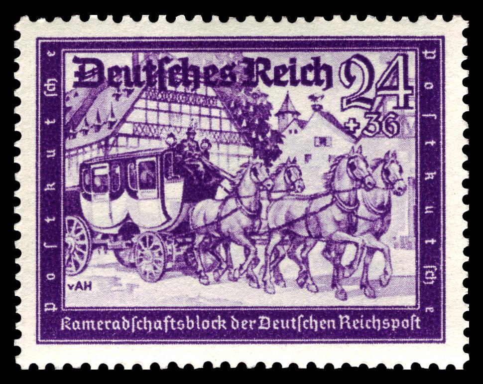 Briefmarken 778 Kameradschaftsblock 24+36 Pf **