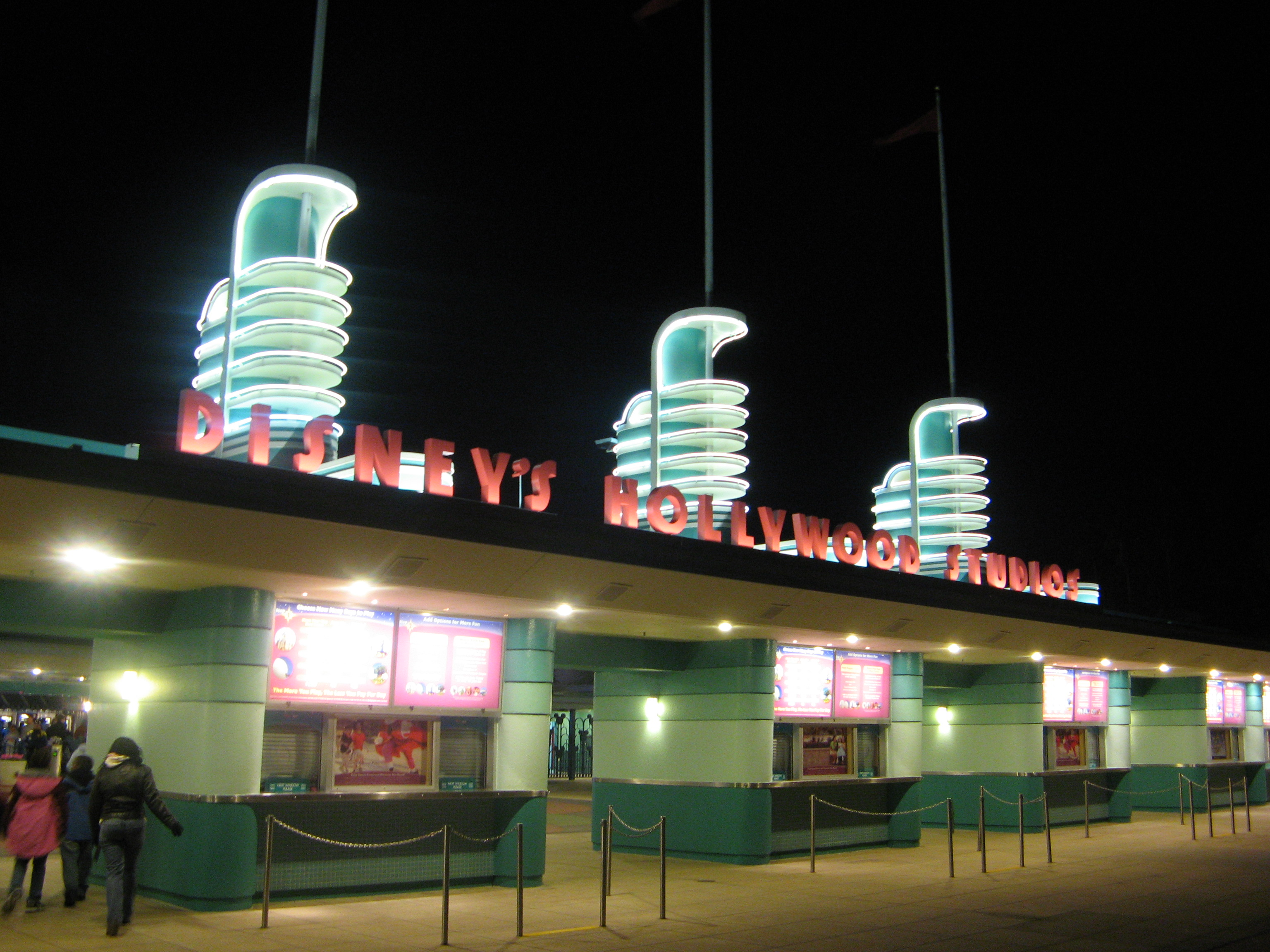 Eingang der Disney's Hollywood Studios