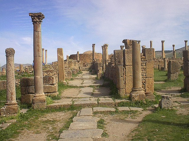 Djemila algeria roman ruins 114