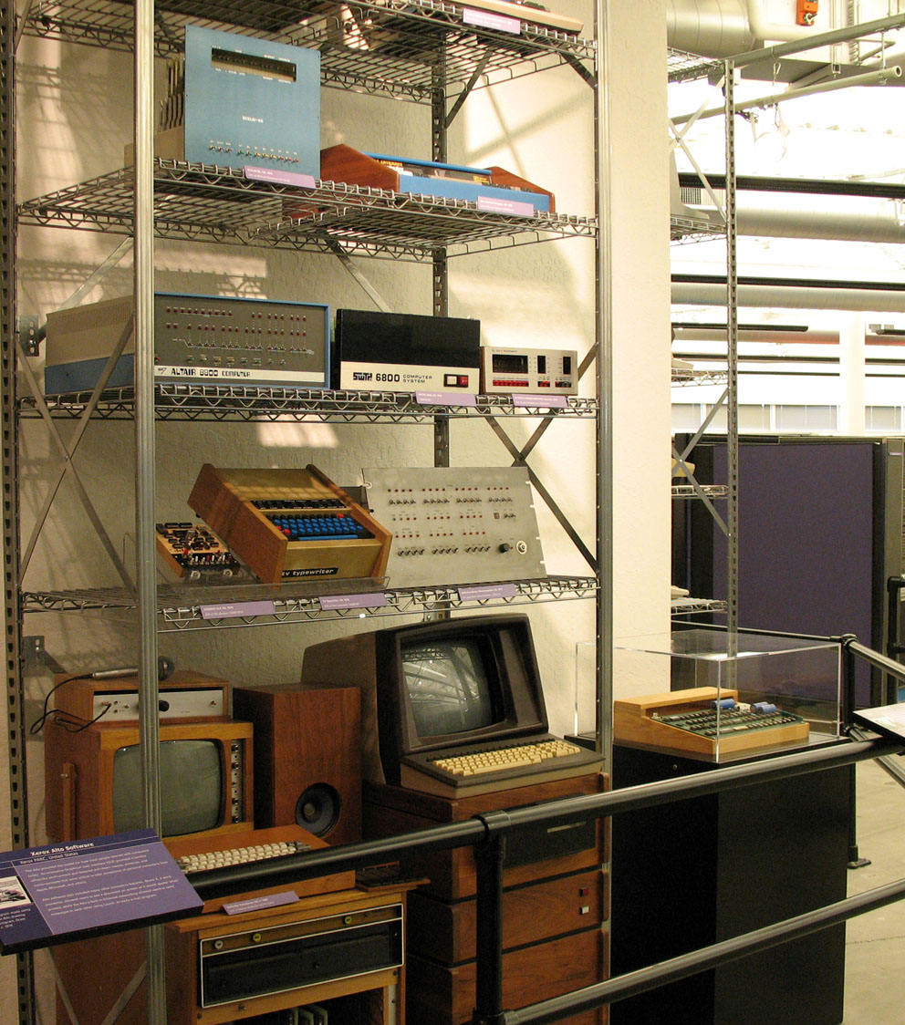 Early personal computers at the Computer History Museum