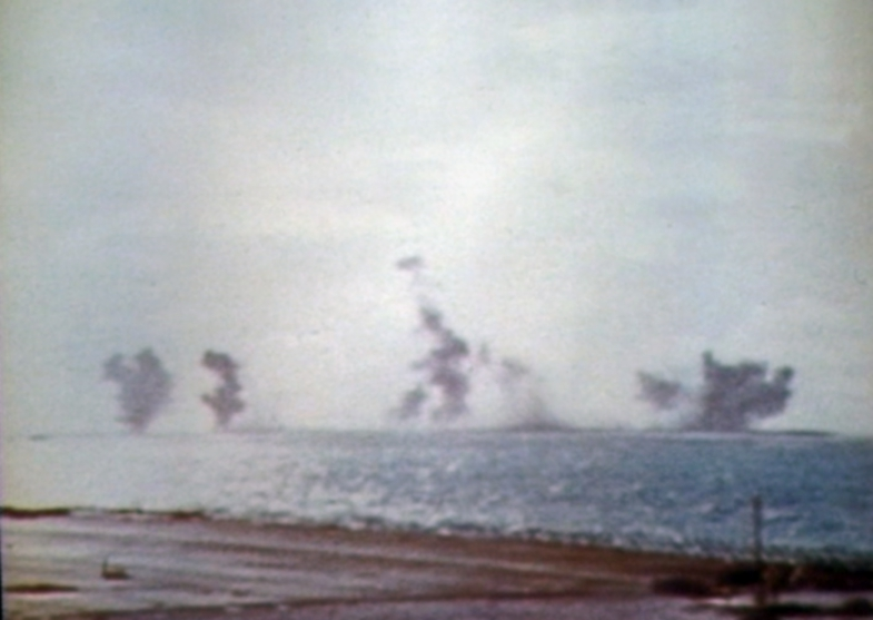 File:Eastern Island Midway under attack 1942.jpg