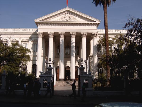 Santiago De Chile Old Congress Building