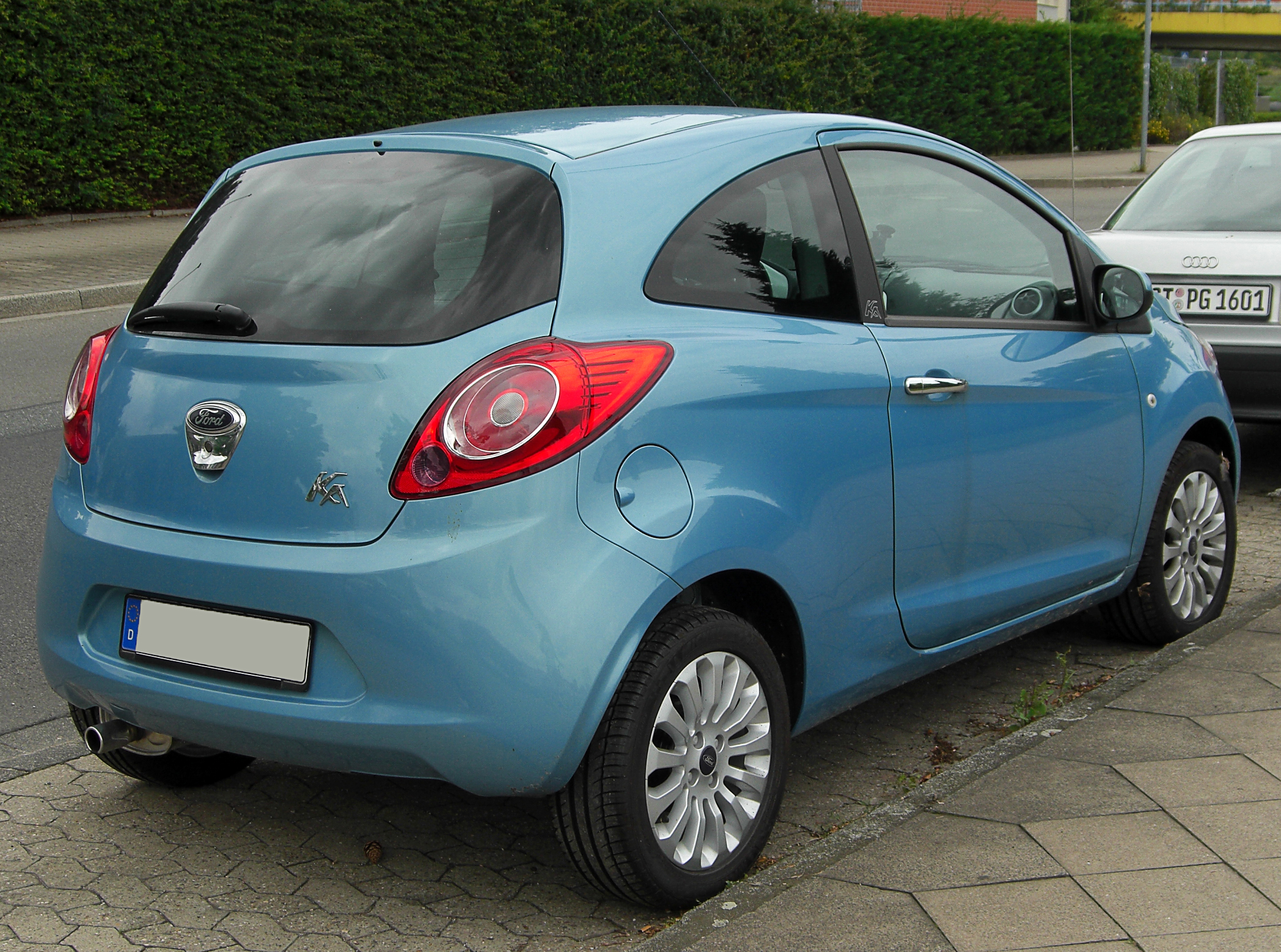 File Ford Ka Ii Rear 20100809 Jpg Wikimedia Commons