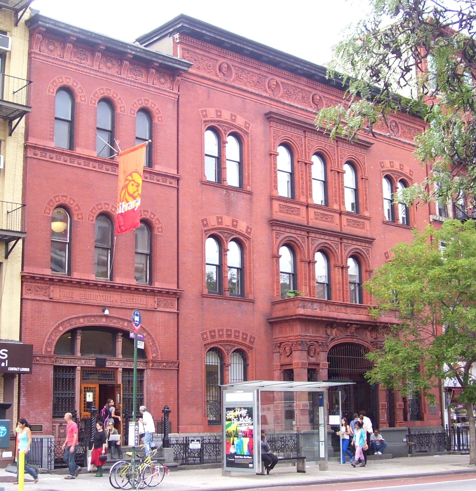 Nyc New York: Little Germany, Manhattan