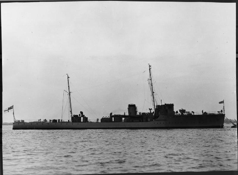 HMS Kingfisher