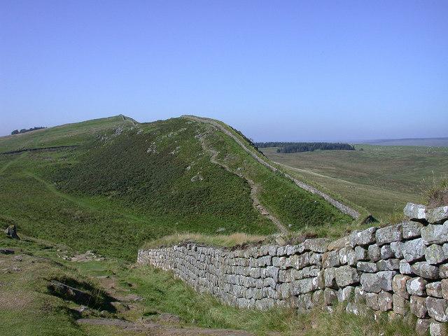 Hadrian's Wall near Milecastle 37 - geograph.org.uk - 730440