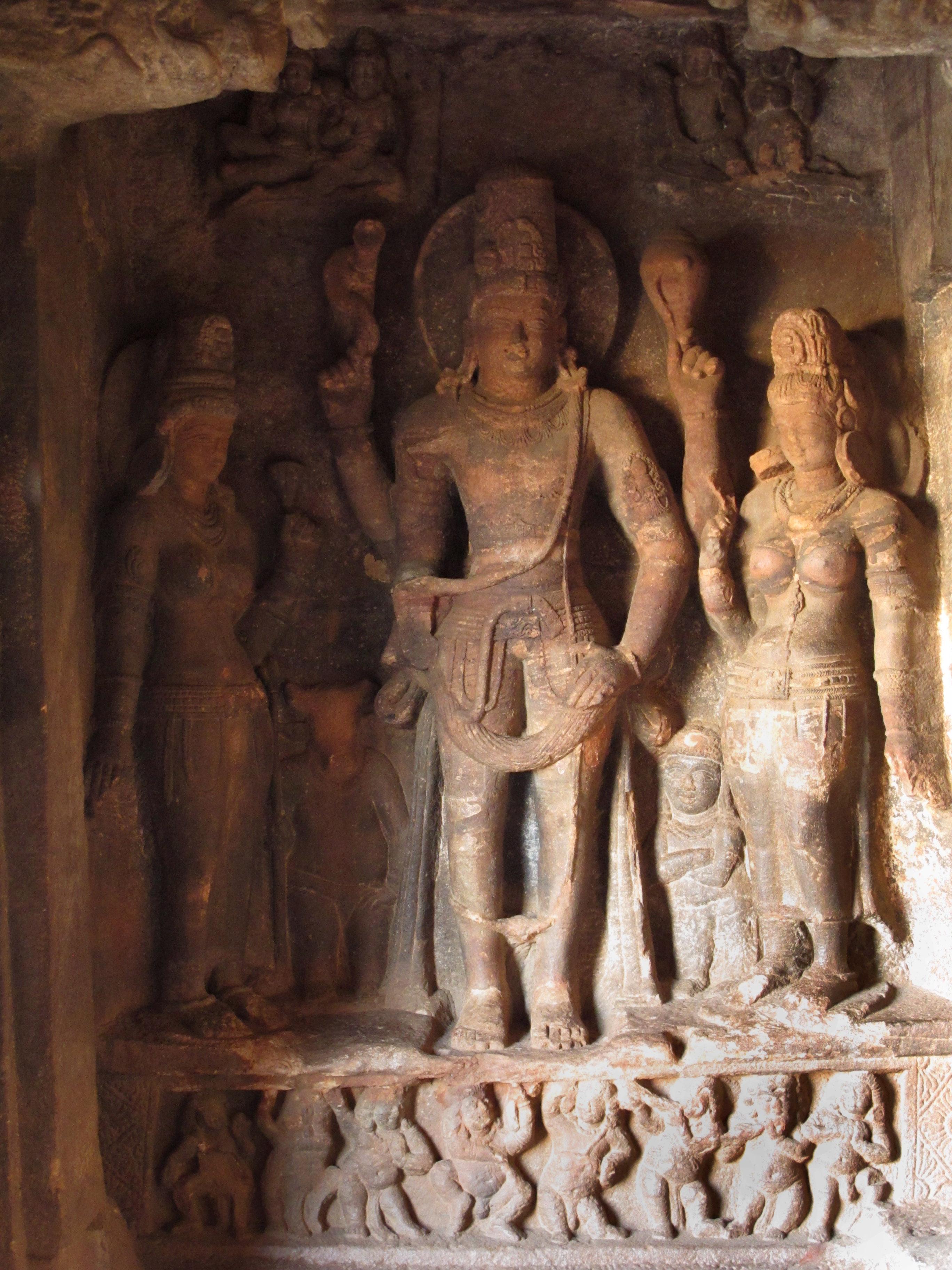 Badami caves india
