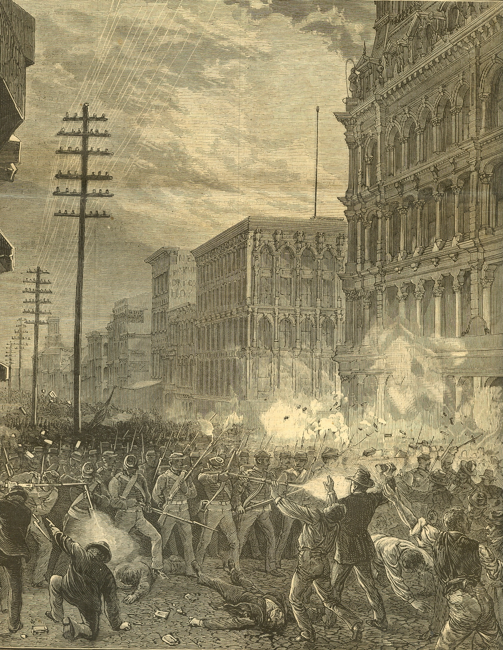 The St. Louis Commune of 1877—America's First General Strike