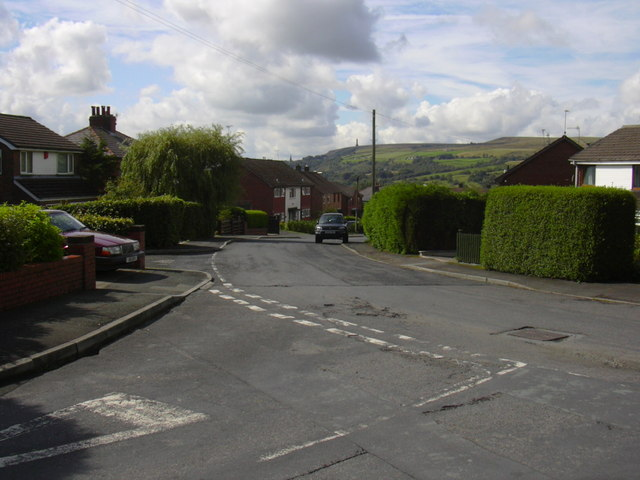 Highfield Road, Edenfield - geograph.org.uk - 920702