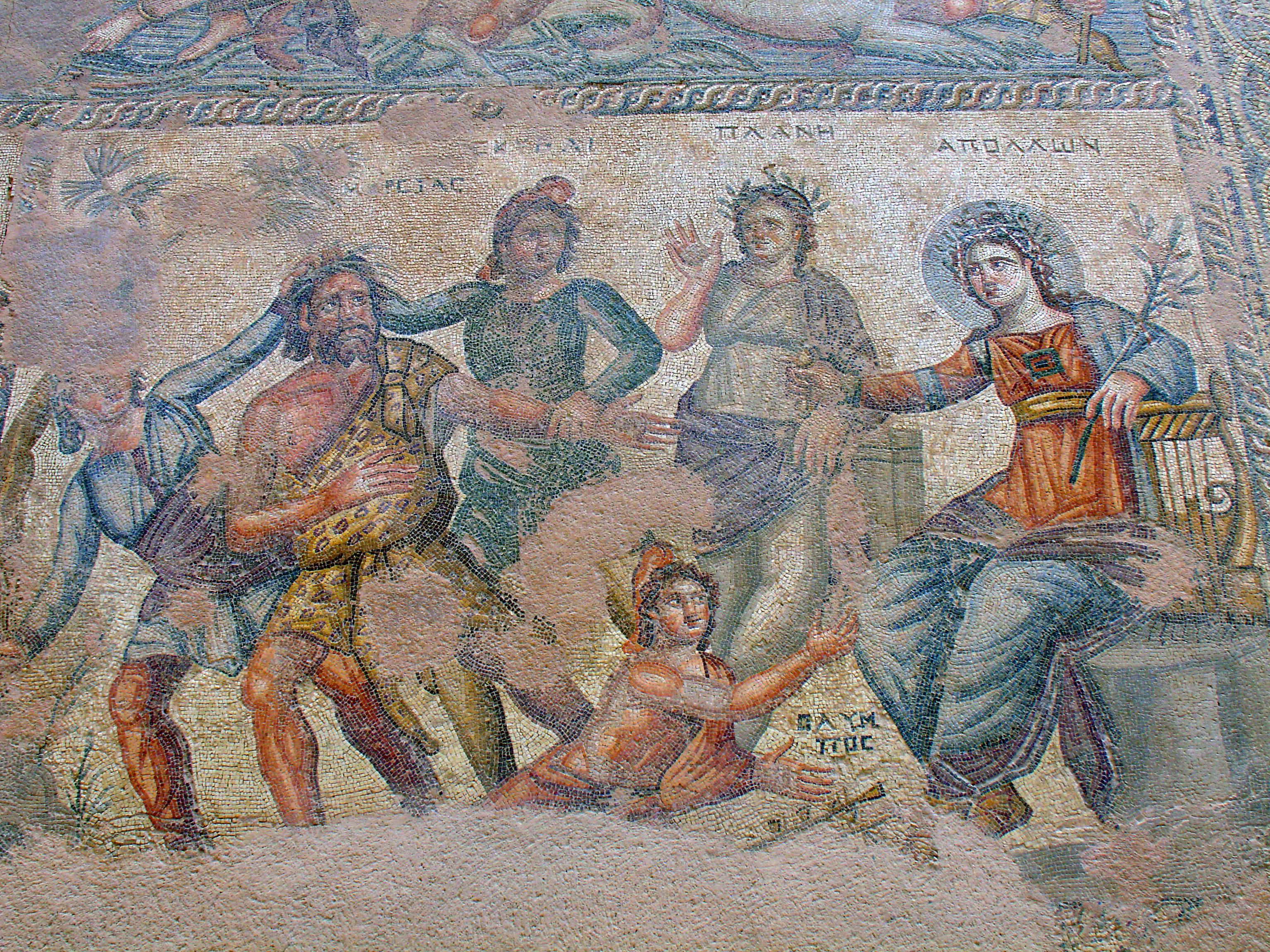 File:Houses of Dionysos Mosaic, Paphos.jpg - Wikimedia Commons