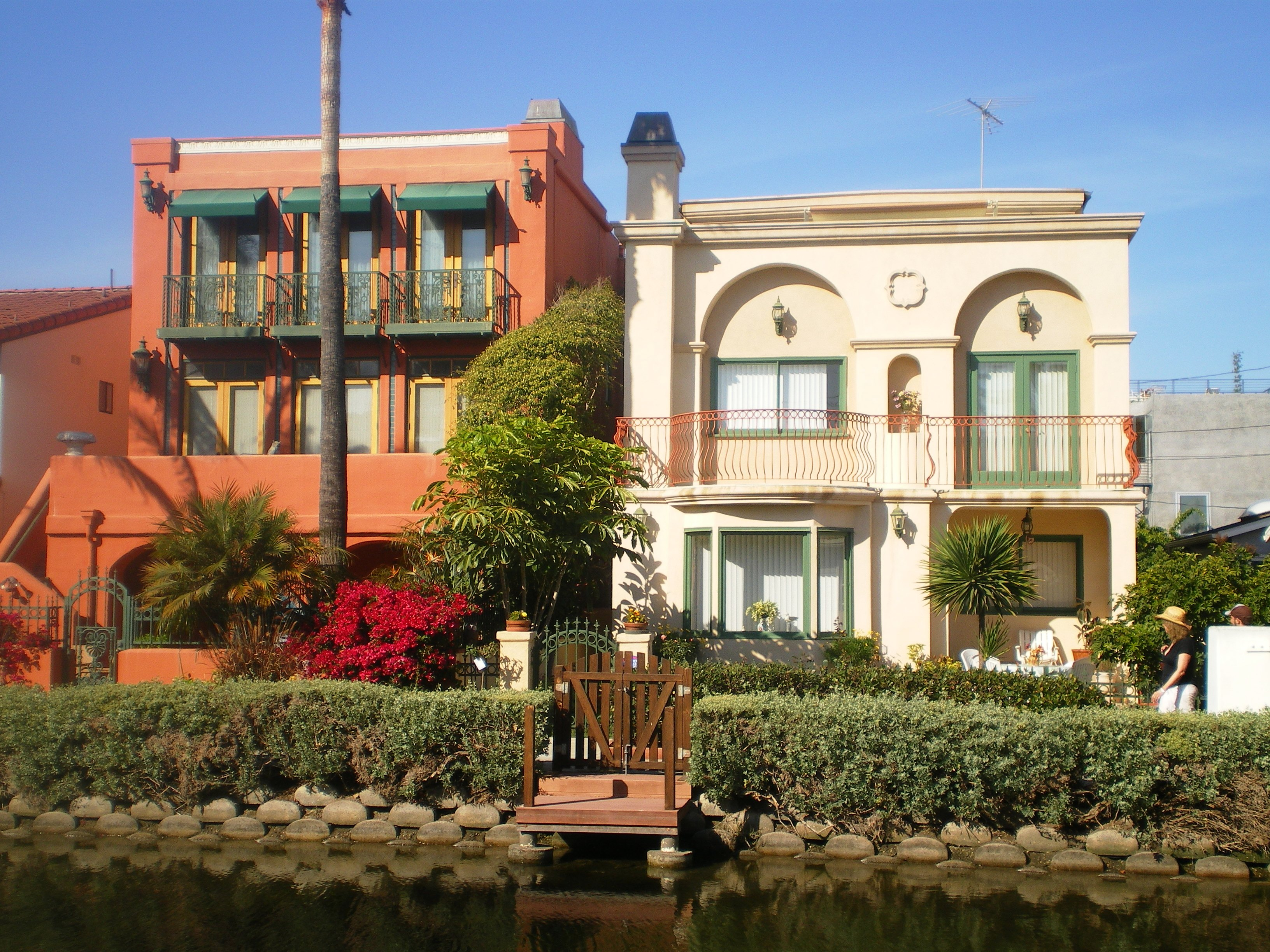 File houses on grand canal venice canal historic district for Historical homes in los angeles
