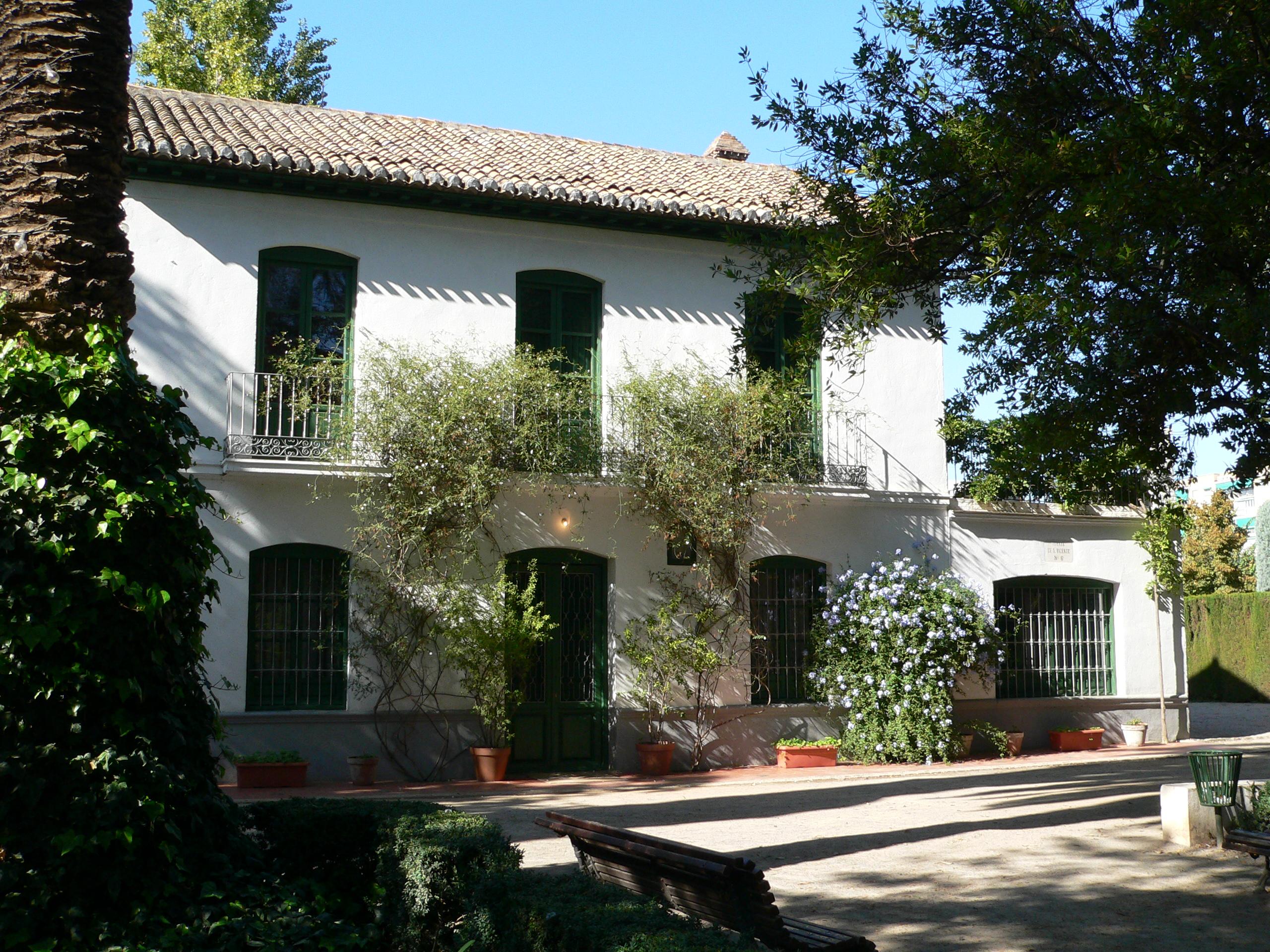 Huerta de San Vicente, casa de verano de García Lorca en Granada, España, ahora un museo.