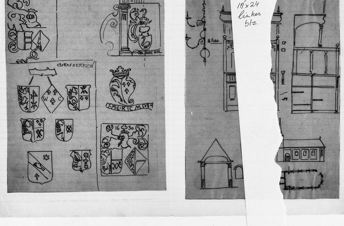 File:INTERIEUR, GRAFZERKEN, MERKEN, (TEKENING J. SCHEEPENS) (1899 ...