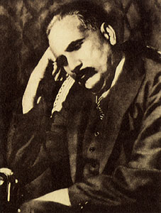 Allama Muhammad Iqbal, the national poet of Pakistan