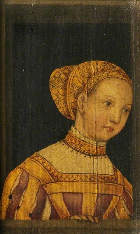 Ф. В. Рорих (?). Бабушка Людовика в молодости. Изображение из Википедии