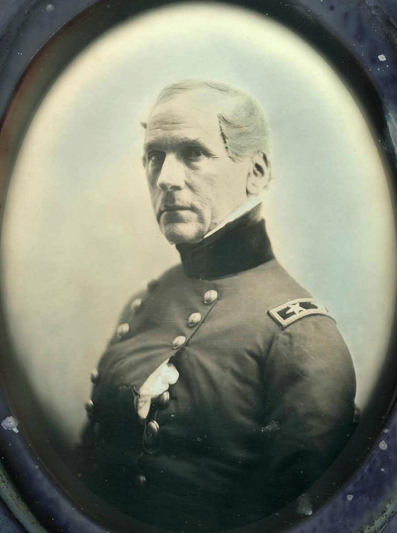 [[Daguerreotype]] of General John E. Wool by [[Southworth & Hawes]]