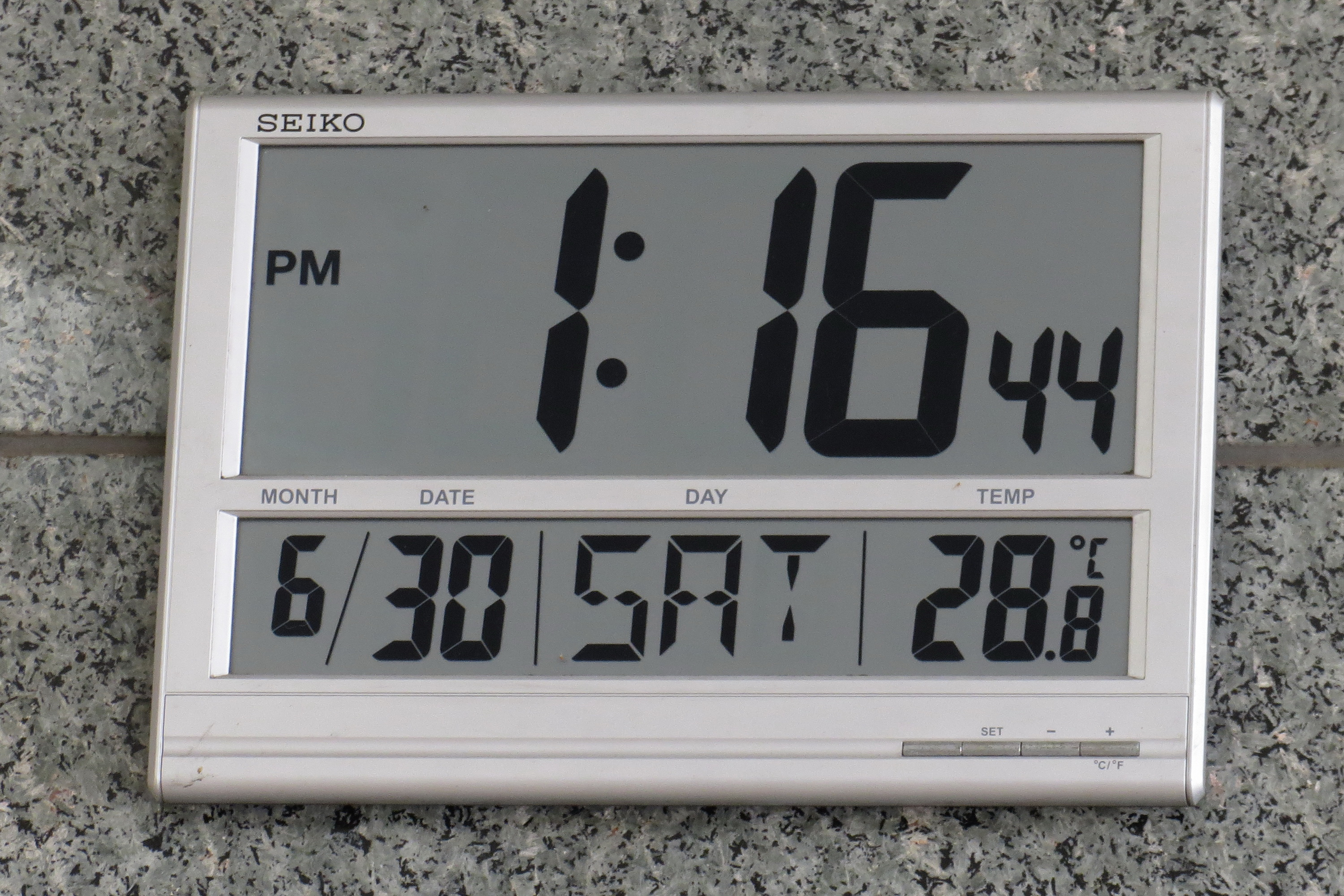 Fileled Digital Wall Clock Seikog Wikimedia Commons