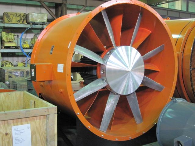 Vane Axial Fan : File large daltec vaneaxial fan g