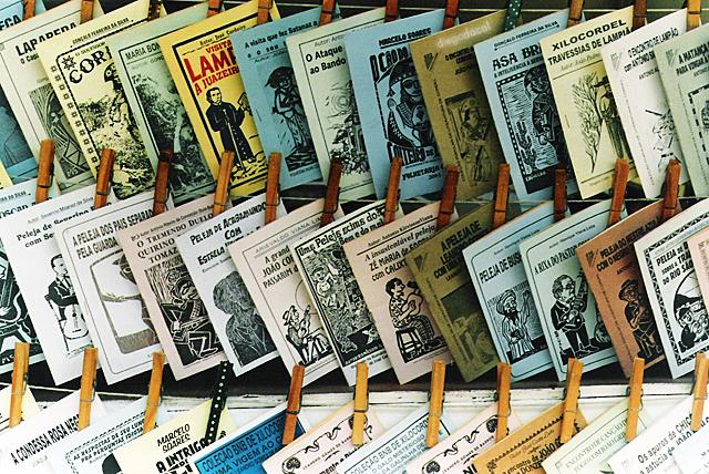 Foto van boekjes van de literatura cordel