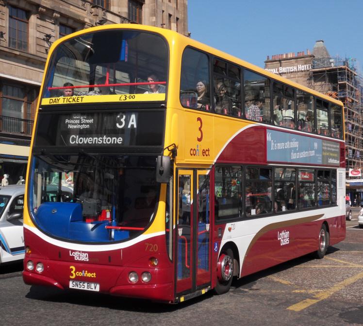 File Lothian Buses Bus 720 Volvo B7tl Wrightbus Eclipse