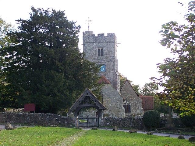 Lychgate to Boxley Church - geograph.org.uk - 1033188