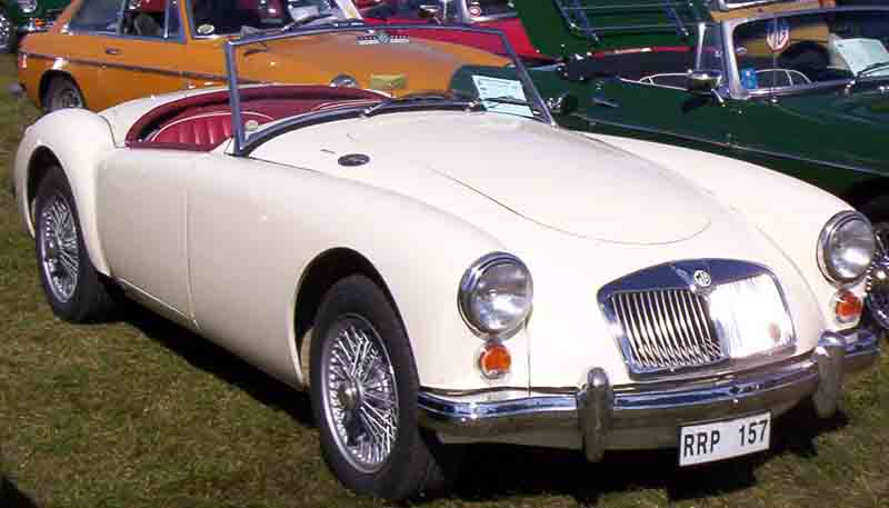 Mg a wikipedia for M and g motors