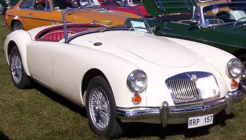 1961 MGA 1600 Roadster