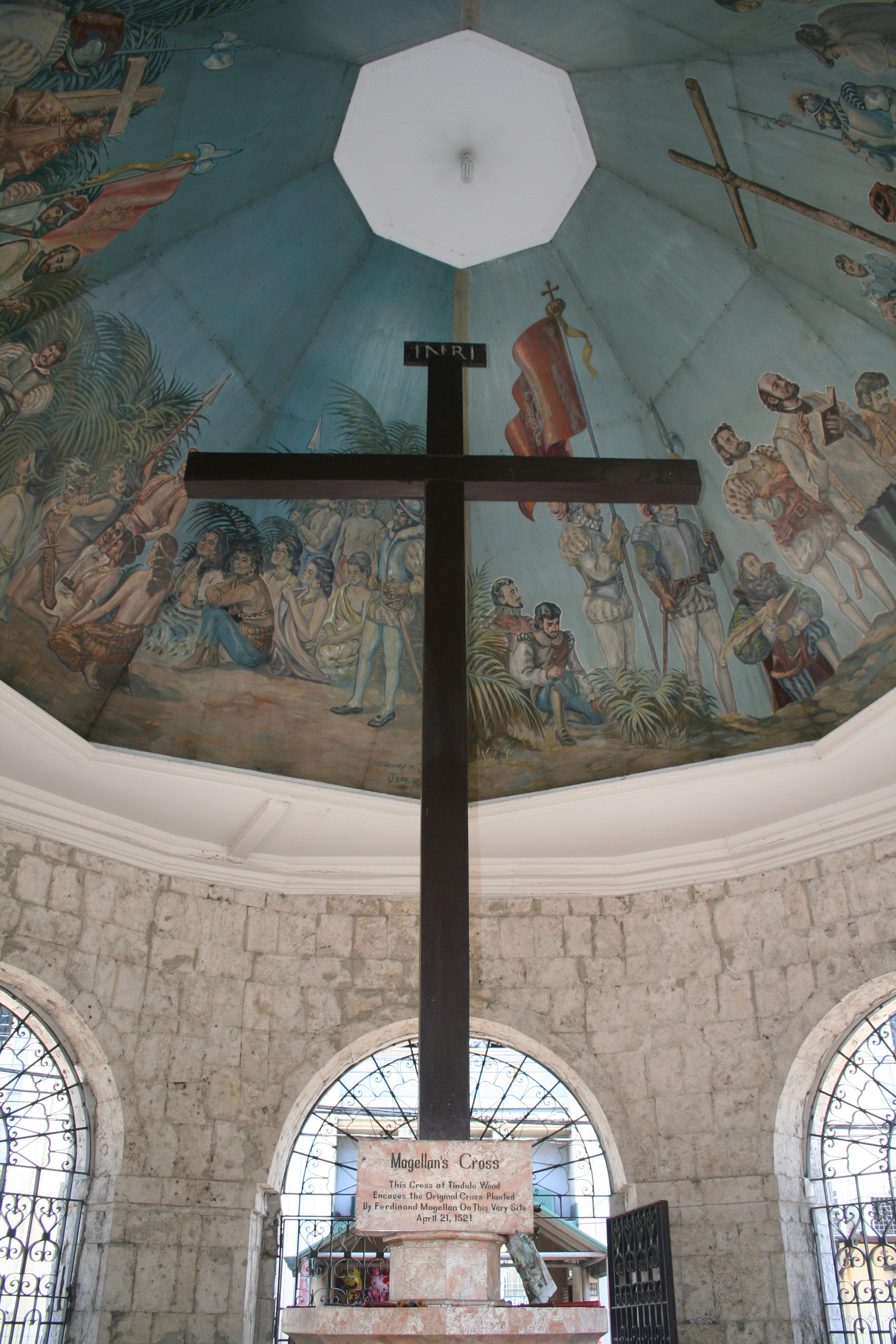 Magellan's Cross in Cebu Philippines