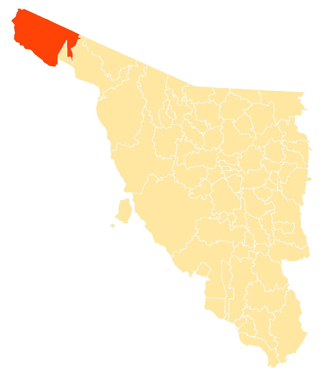 File Mapa Municipios Sonora San Luis Rio Colorado Png Wikimedia Commons