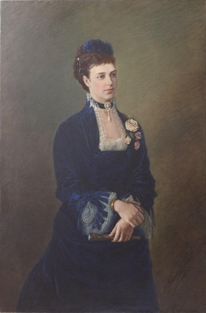 Мария Федоровна по Н. Богатскому (1882, прив.колл.).jpg