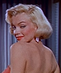 Marilyn Monroe in How to Marry a Millionaire trailer