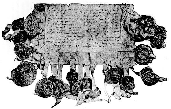 Acte de Mauclerc, 1230