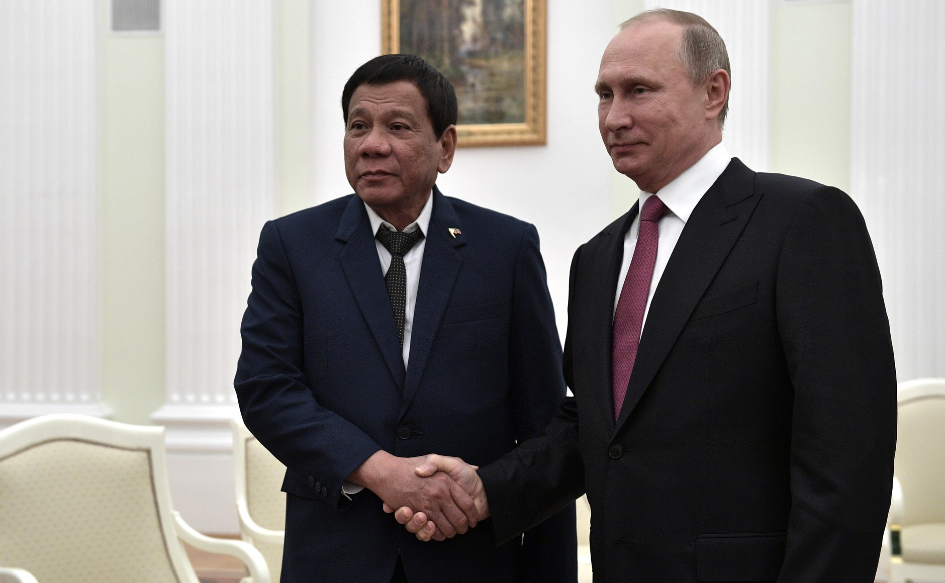 File:Meeting of Vladimir Putin with the President of the Philippines  Rodrigo Duterte.jpg - Wikimedia Commons