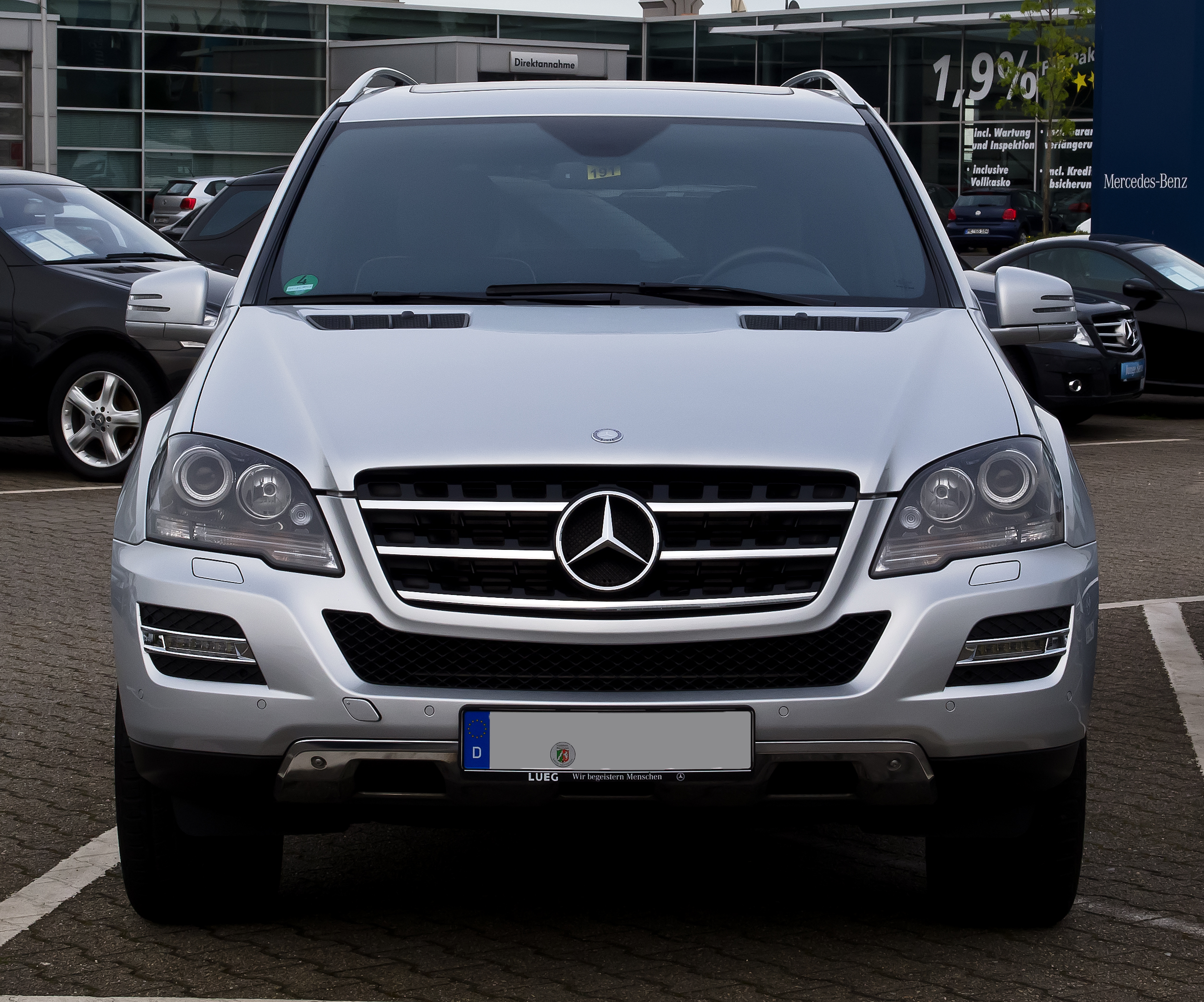 file mercedes benz ml 350 cdi 4matic grand edition w 164 facelift frontansicht 17 mai. Black Bedroom Furniture Sets. Home Design Ideas