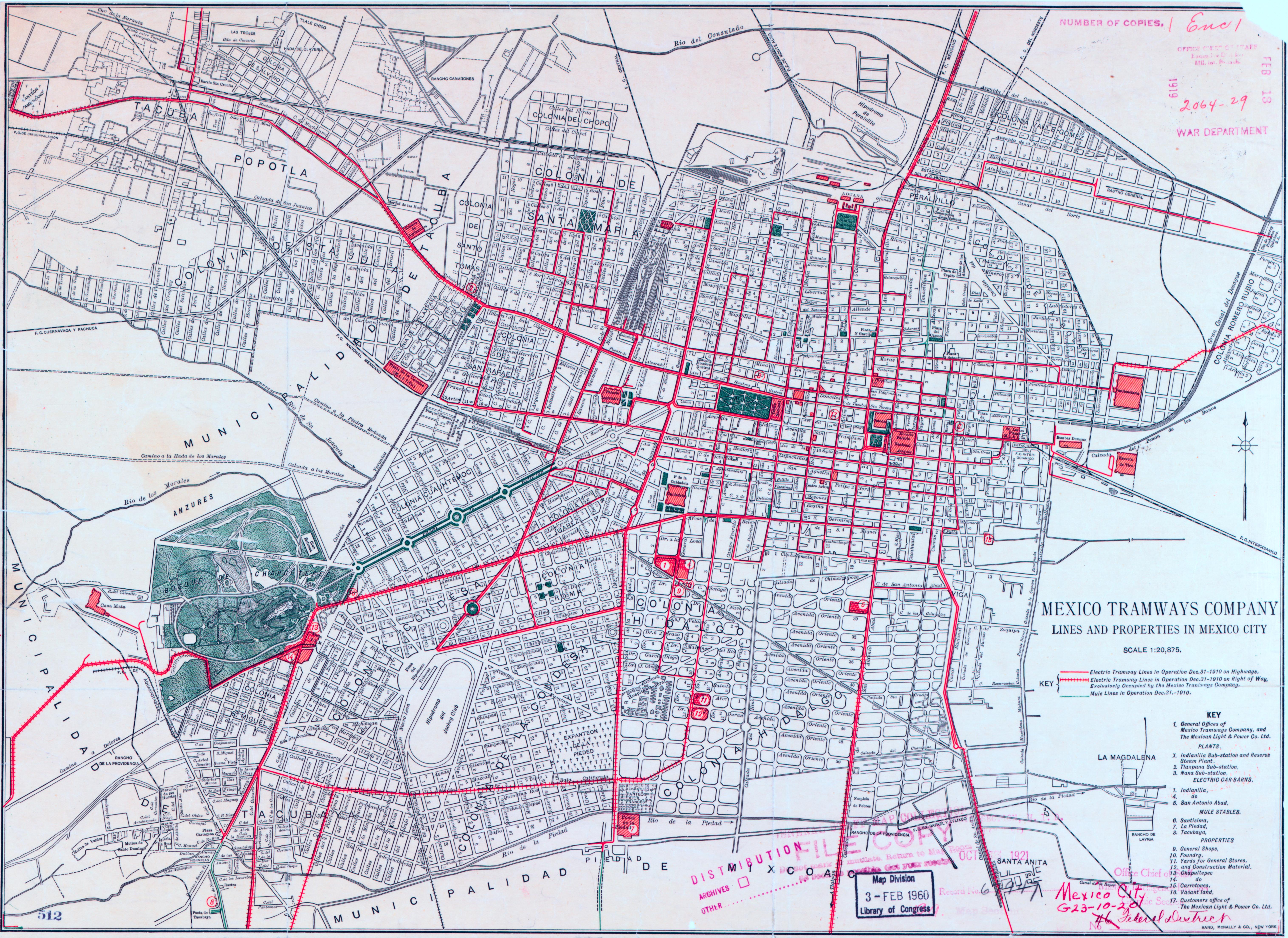 File:Mexico City Tramway Map 1910.jpg - Wikimedia Commons