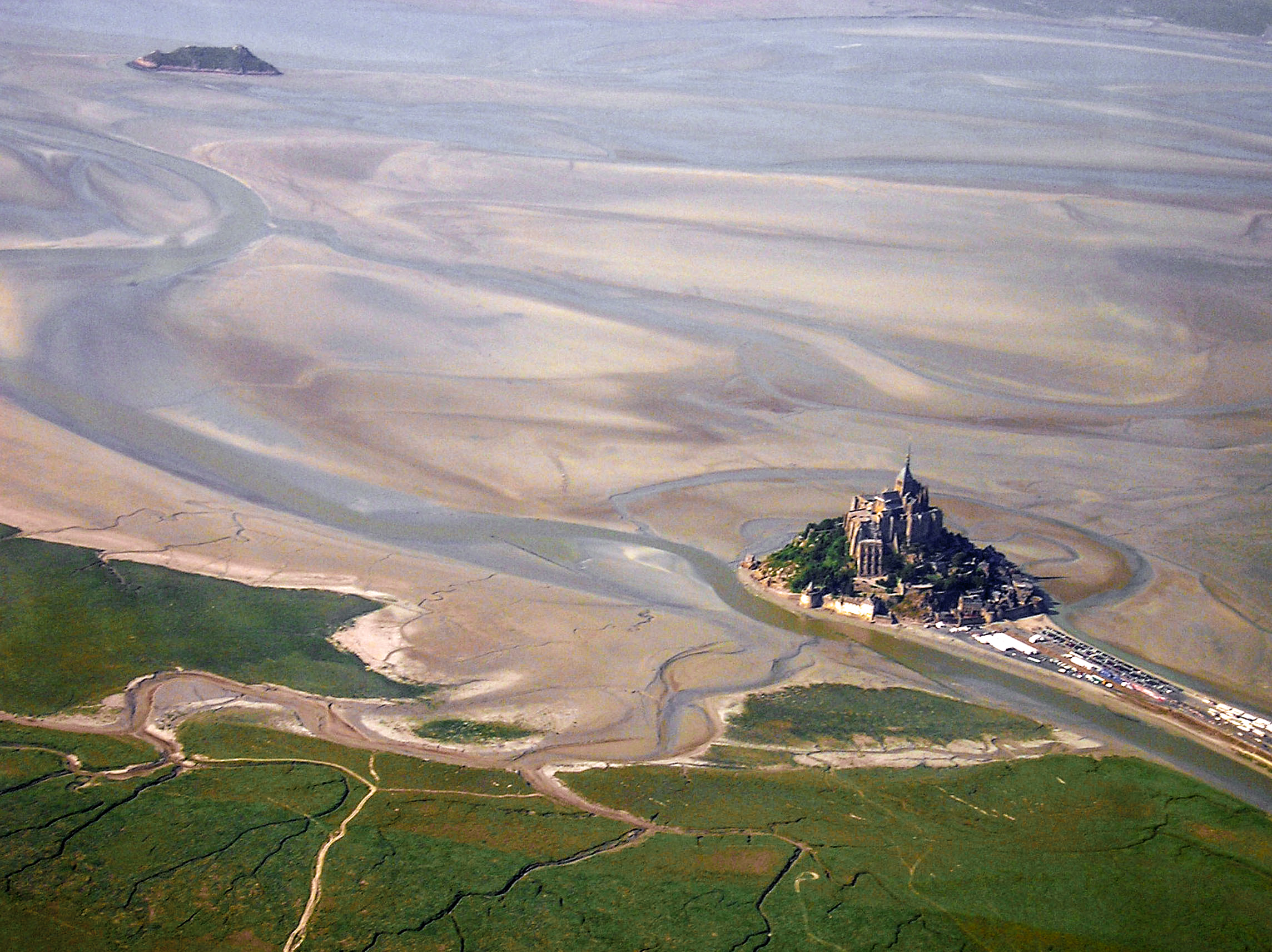 file mont st michel aerial jpg wikimedia commons