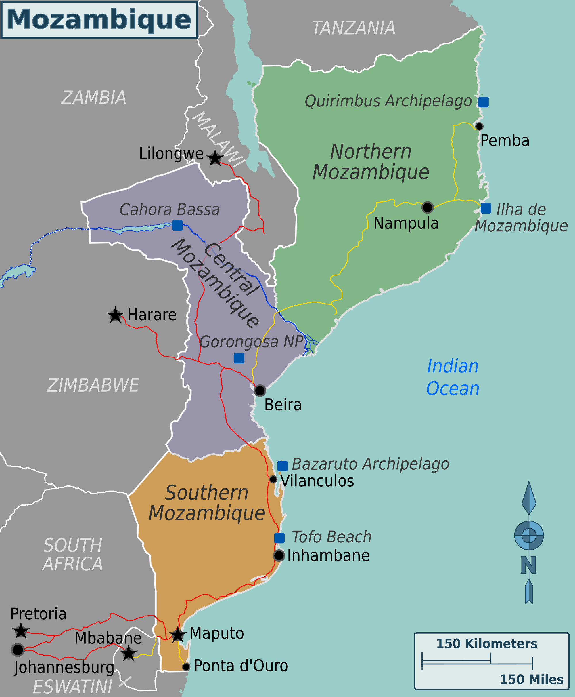 Mozambique – Travel guide at Wikivoyage