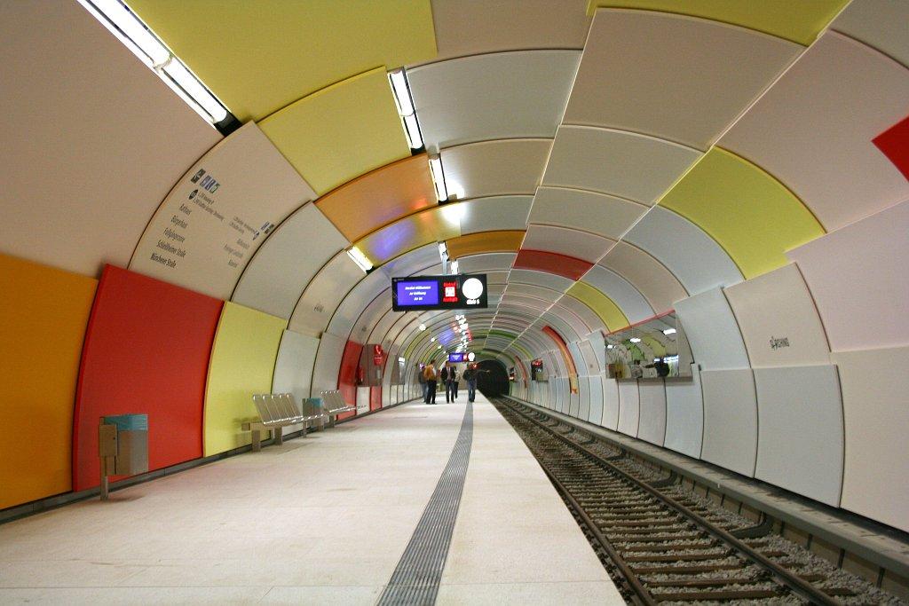 S Bahn Garching