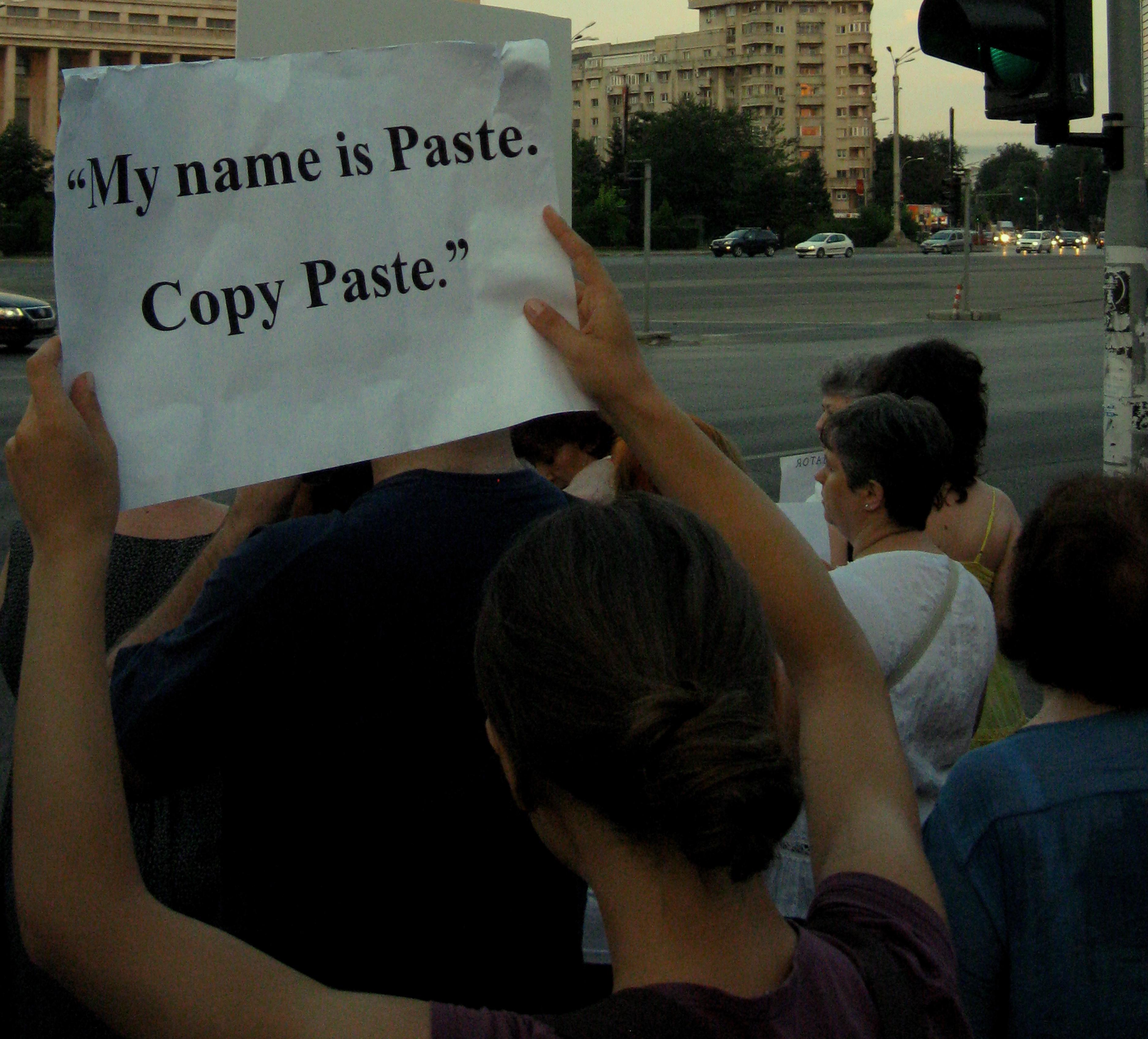 File:My name is Paste. Copy Paste, proteste Victoria 9-7-12.JPG